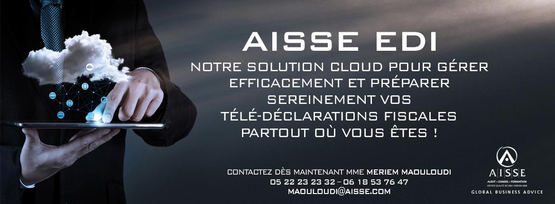 Le Cabinet AISSE lance sa nouvelle solution cloud pour la télé-déclaration fiscale AISSE EDI
