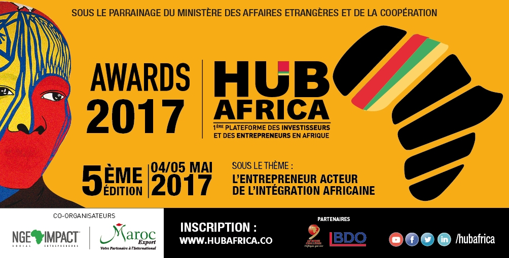 Participation au Salon HUB AFRICA 2017