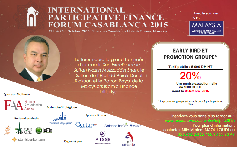 International Participative Finance Forum Casablanca 2015